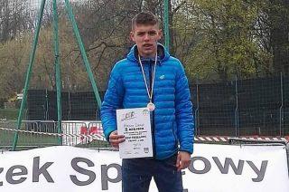 Dawid Miksza trzeci. Siedmiu biegaczy Gimnazjum nr 1 z awansem na igrzyska