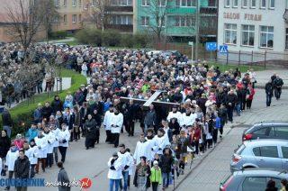 Droga krzyżowa ulicami Mławy