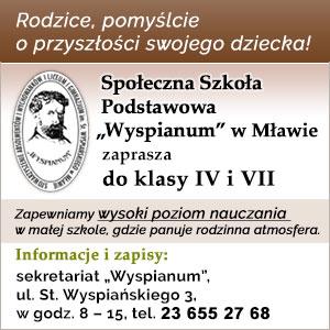 Społeczna Szkoła Podstawowa Wyspianum w Mławie