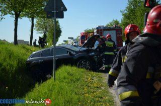 Wypadek koło Trzcianki
