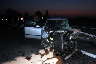 """Wypadek na """"siódemce"""". Rozbite cztery auta, trzy osoby w szpitalu – aktualizacja"""