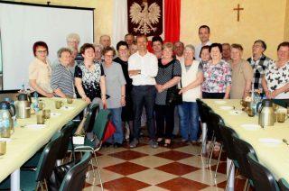 """Projekt """"Świadomy Senior"""" w Stupsku. Warsztaty prozdrowotne"""