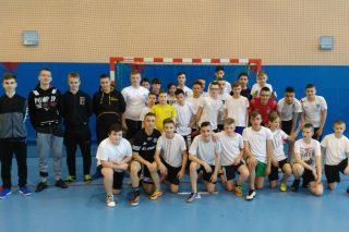 Zmagania piłkarskie pierwszaków Gimnazjum nr 1