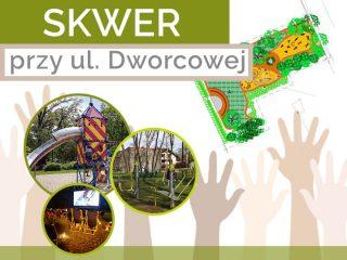 Konkurs na projekt i wykonanie parku przy Dworcowej unieważniony