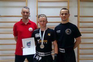 Adam Cichocki v-ce Mistrzem Świata w Kickboxingu
