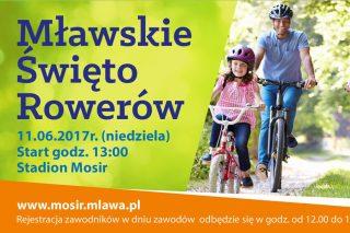 Już 11 czerwca – II edycja Mławskiego Święta Rowerów!