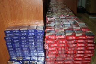 Mławscy policjanci zabezpieczyli pond 100 tysięcy papierosów