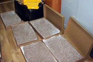 Mieszkaniec Mławy posiadał 200 tys. szt papierosów bez akcyzy. Kara nawet 3 lata więzienia