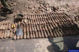 Śmierć odkopana koło drogi w Iłowie Osadzie
