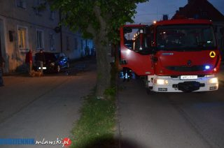 Mława. Podpalenie auta na ulicy Słowackiego – aktualizacja
