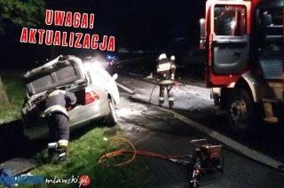 AKTUALIZACJA: Śmiertelny wypadek w Mdzewie