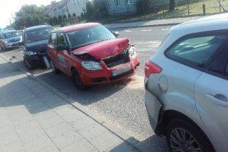 Wiśniewo – zderzenie 3 aut