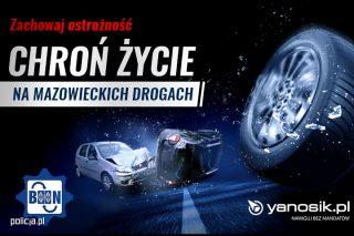 Nawigacja Yanosik ostrzeże o niebezpiecznych drogach na Mazowszu