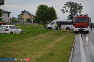 Uniszki Zawadzkie. Bus contra BMW