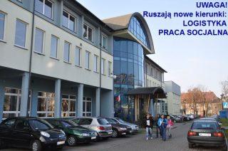 Nowe kierunki studiów w PWSZ w Ciechanowie – Logistyka   i   Praca  Socjalna