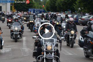 Parada motocyklistów przejechała ulicami Mławy