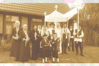 5 sierpnia. Rekonstrukcja przedwojennego ślubu żydowskiego