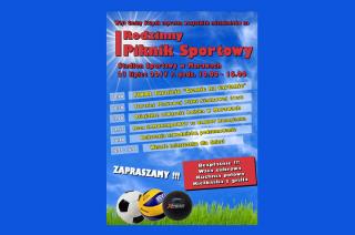 23 lipca Stupsk zaprasza na Rodzinny Piknik Sportowy