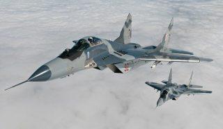 MiGi przelecą nad polem bitwy!