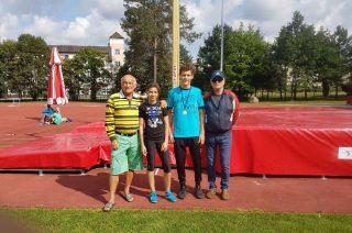 Zwycięstwo mławskich lekkoatletów w Spale