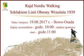 Już jutro: Rajd Nordic Walking Szlakiem Linii Obrony Września 1939