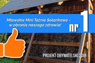 Mławskie Mini Tężnie Solankowe – w obronie naszego zdrowia!
