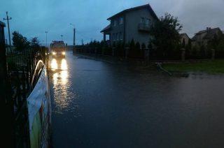 Gdy leje to jest powódź. Sorry, taki mamy klimat