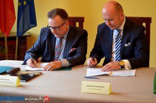 Umowa podpisana. Mława otrzyma prawie 4,6 mln zł na budowę Alei św. Wojciecha