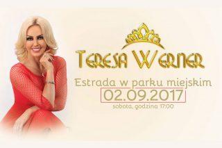 Gwiazdą sobotniego koncertu w parku będzie Teresa Werner!