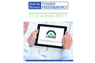 """Mławski ZUS również zaprasza na """"Tydzień Przedsiębiorcy"""""""