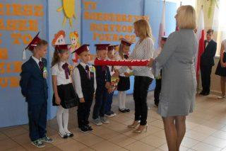 Nowi uczniowie w Szkole Podstawowej w Dębsku