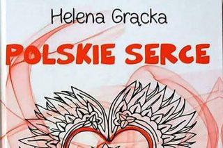 """Biblioteka zaprasza na spotkanie z autorką książki """"Polskie serce"""", Heleną Grącką."""