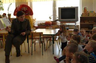 Pani Leśnik w przedszkolu