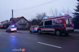 Na ulicy Padlewskiego 9-cio latka wbiegła pod samochód