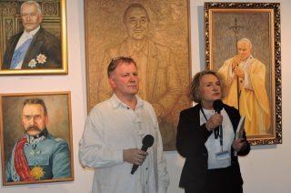 Wernisaż wystawy prac Zdzisława Kruszyńskiego w Ciechanowie
