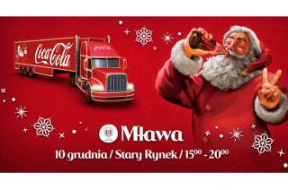 Ciężarówka Coca – Cola już w tę niedzielę w Mławie!