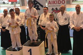 6 medali dla Aikidoków Hidokan Dojo Mława