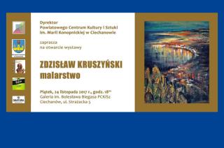 Coś dla koneserów. Wystawa malarstwa Zdzisława Kruszyńskiego