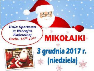 """W """"Mikołajkową Podróż"""" rodziców i dzieci zaprasza Wieczfnia Kościelna!"""