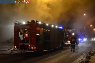 AKTUALIZACJA: Pożar na ulicy Padlewskiego. Zginął 43- letni mężczyzna
