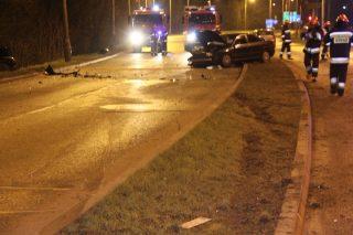 Młody kierowca z Mławy zderzył się z oplem. 6 osób trafiło do szpitala