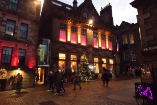 Świąteczna fotorelacja z Edynburga
