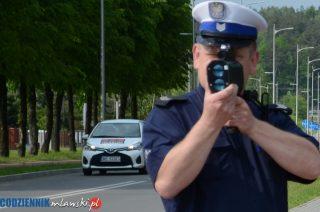 Szreńsk. Pędziła ponad 100 km/h w terenie zabudowanym