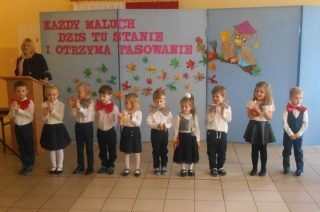 SP Dębsk. Nasze przedszkolaki – nie lada chojraki