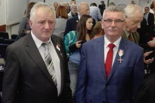 Jan Łukasik i Jerzy Karwowski odznaczeni Krzyżem Wolności i Solidarności