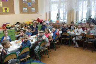 Andrzejki w Szkole Filialnej w Grzebsku