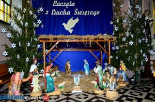 Bożonarodzeniowe żłóbki w mławskich kościołach. Parafia św, Stanisława BM