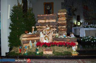 Bożonarodzeniowe żłóbki w mławskich kościołach. Parafia św. Jana Kantego