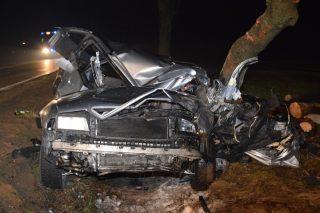 Wypadek drogowy w Narzymiu. Dwie osoby nie żyją