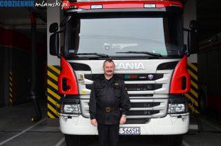 Mławscy strażacy już mogą do akcji wyruszyć nowym wozem